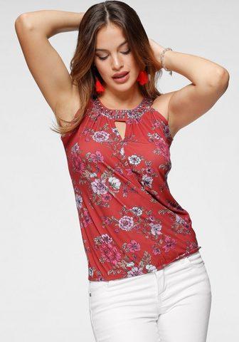 Melrose Marškinėliai be rankovių su Print ir S...