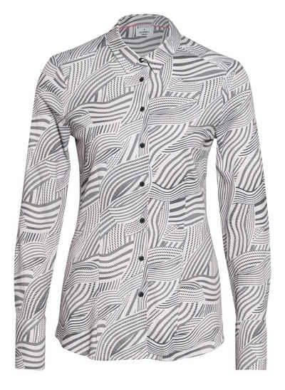 Desoto Shirtbluse »DESOTO Damen Bluse Pia langarm mit Alloverprint - 42980«