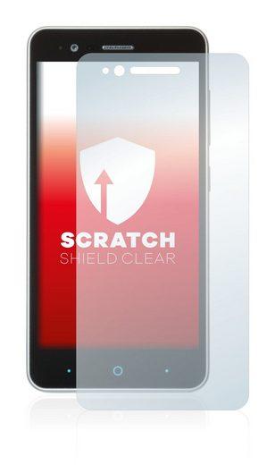 upscreen Schutzfolie »für ZTE Blade A510«, Folie Schutzfolie klar anti-scratch