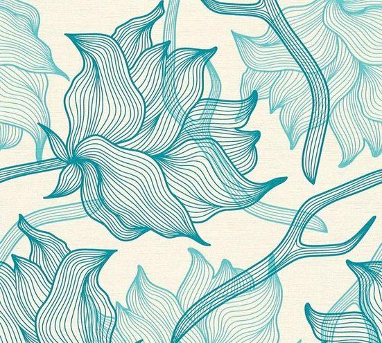 LARS CONTZEN Vliestapete »Artist Edition No. 1 Dried Flowers«