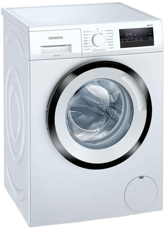 SIEMENS Waschmaschine WM14N128, 8 kg, 1400 U/min