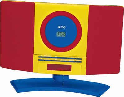 AEG »AEG CD-Player Stereo-Anlage Kinder-Anlage LCD MP3 Musikanlage MC 4464« Stereo-CD Player