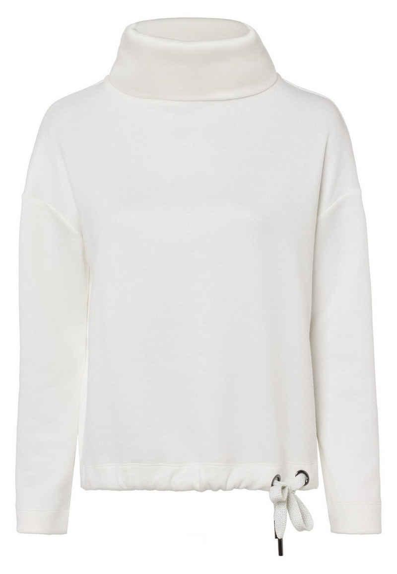 Zero Sweatshirt »mit Rollkragen« Bindedetail