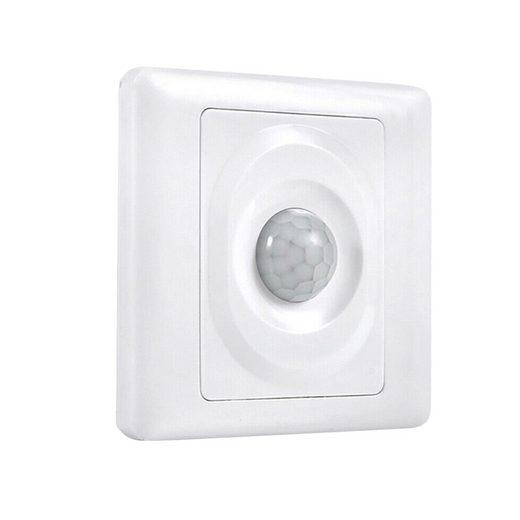 Rosnek »PIR-Infrarot-Bewegungssensor, Weiß, Lichtschalter, für CFL/LED/Glühbirne im Innenbereich« Smarter Bewegungssensor