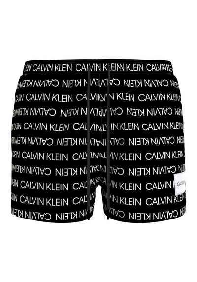 Calvin Klein Badeshorts, mit Calvin Klein All-Over-Print
