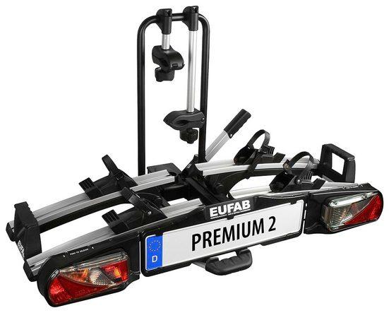 EUFAB Fahrradträger »PREMIUM 2«, für die Anhängerkupplung, abschließbar