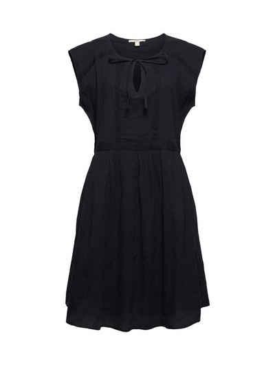 Esprit Midikleid »Voile-Kleid aus Bio-Baumwolle mit Spitze«