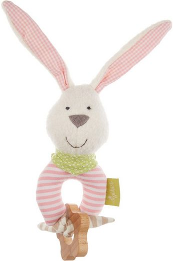 Sigikid Greifling »Green Collection, Hase, rosa«, Made in Europe