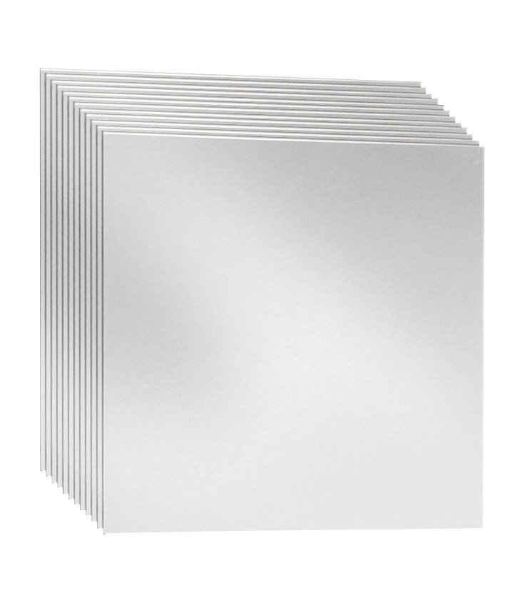 jokey Spiegelfliesen »Kristallglasspiegel-Kacheln« (Set, 12-St), selbstklebend