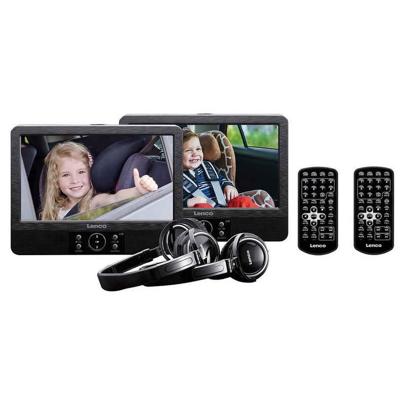 "Lenco »DVP-939 - DVD-Player-Set mit 2x 9""-Bildschirmen,« DVD-Player"