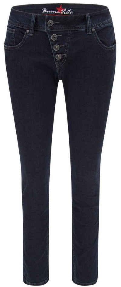 Buena Vista 5-Pocket-Jeans »Malibu Stretch Denim, raw blue«