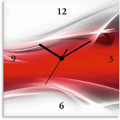 Artland Wanduhr »Kreatives Element« (lautlos, ohne Tickgeräusche, nicht tickend, geräuschlos - wählbar: Funkuhr o. Quarzuhr, moderne Uhr für Wohnzimmer, Küche etc. - Stil: modern)