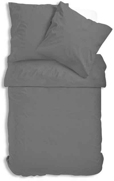 Bettwäsche »Uni Renforce«, One Home, mit Reißverschluss