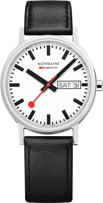 MONDAINE Schweizer Uhr »Classic, A667.30314.11SBB«