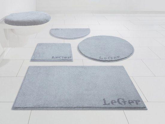 Badematte »Sophie« LeGer Home by Lena Gercke, Höhe 20 mm, rutschhemmend beschichtet, weiche Haptik