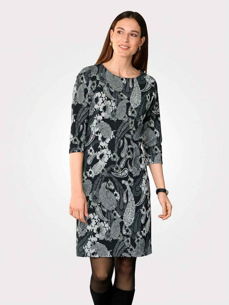 Mona Jerseykleid mit farbharmonischem Druck