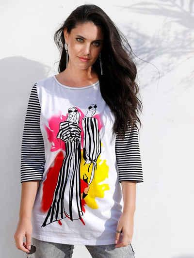 MIAMODA Print-Shirt mit modischem Druck