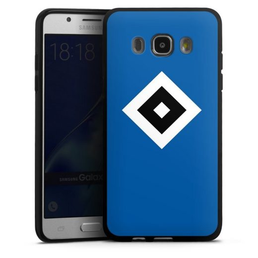 DeinDesign Handyhülle »HSV Blau« Samsung Galaxy J5 Duos (2016), Hülle Hamburger SV Logo HSV