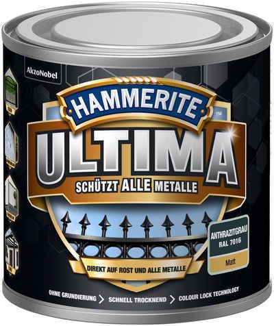 Hammerite Metallschutzlack »ULTIMA«, 3in1, anthrazitgrau RAL 7016, matt