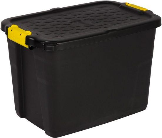 KREHER Aufbewahrungsbox »TOUGH«, (B/T/H): ca. 50x35x39 cm