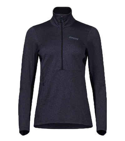 Bergans Outdoorjacke »Bergans Fløyen Fleece W Half Zip Sport-Jacke leichte Damen Outdoor-Jacke mit Netzeinsätzen Wind-Jacke Dunkelblau«