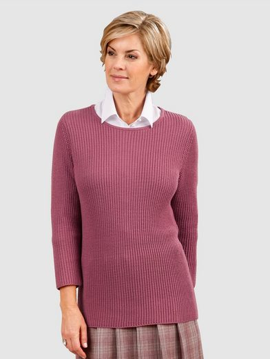 Paola Pullover mit Strickmuster