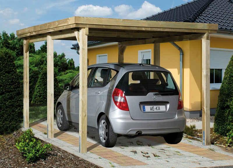 weka Einzelcarport »Optima 1«, 215 cm Einfahrtshöhe
