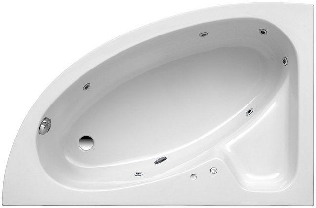 Badewannen und Whirlpools - OTTOFOND Whirlpool Badewanne »Salinas A«, (Komplett Set, 3 tlg), Typ 1, chrom  - Onlineshop OTTO