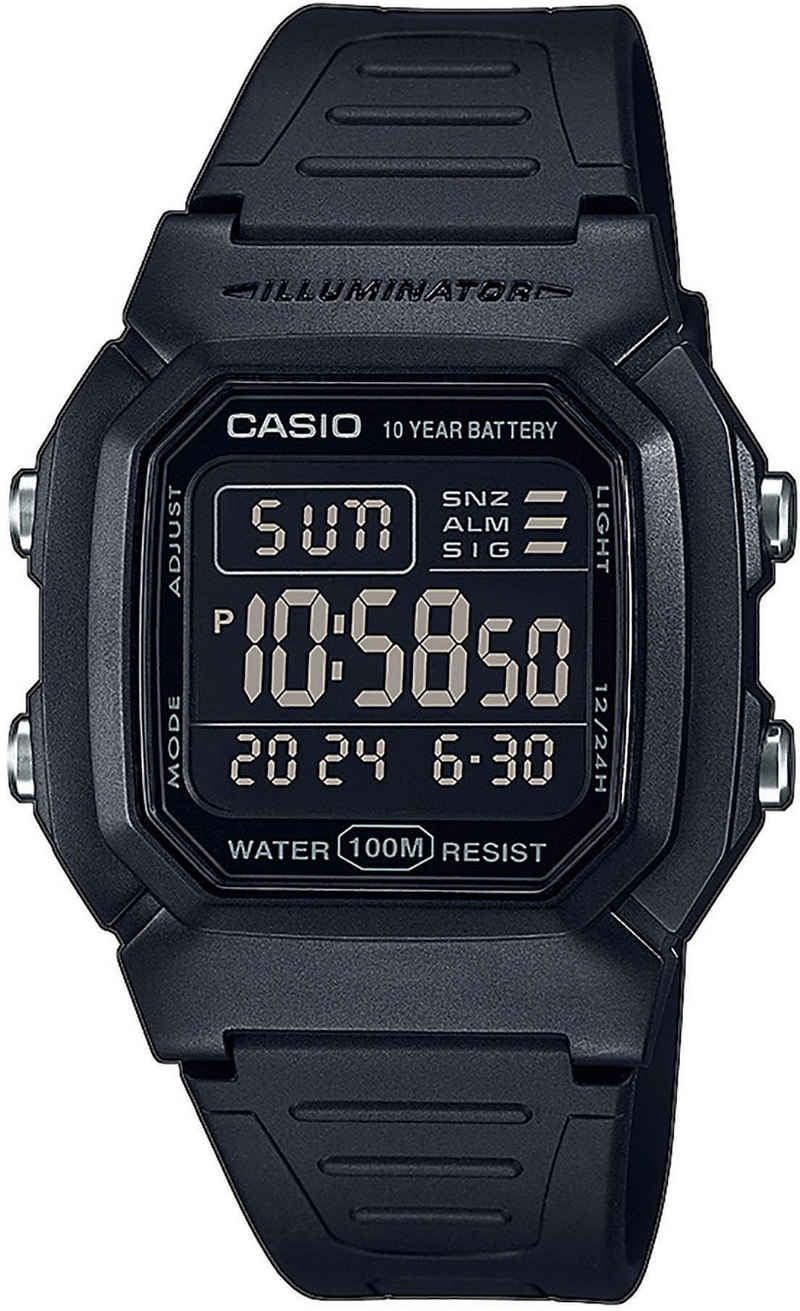 Casio Collection Chronograph »W-800H-1BVES«