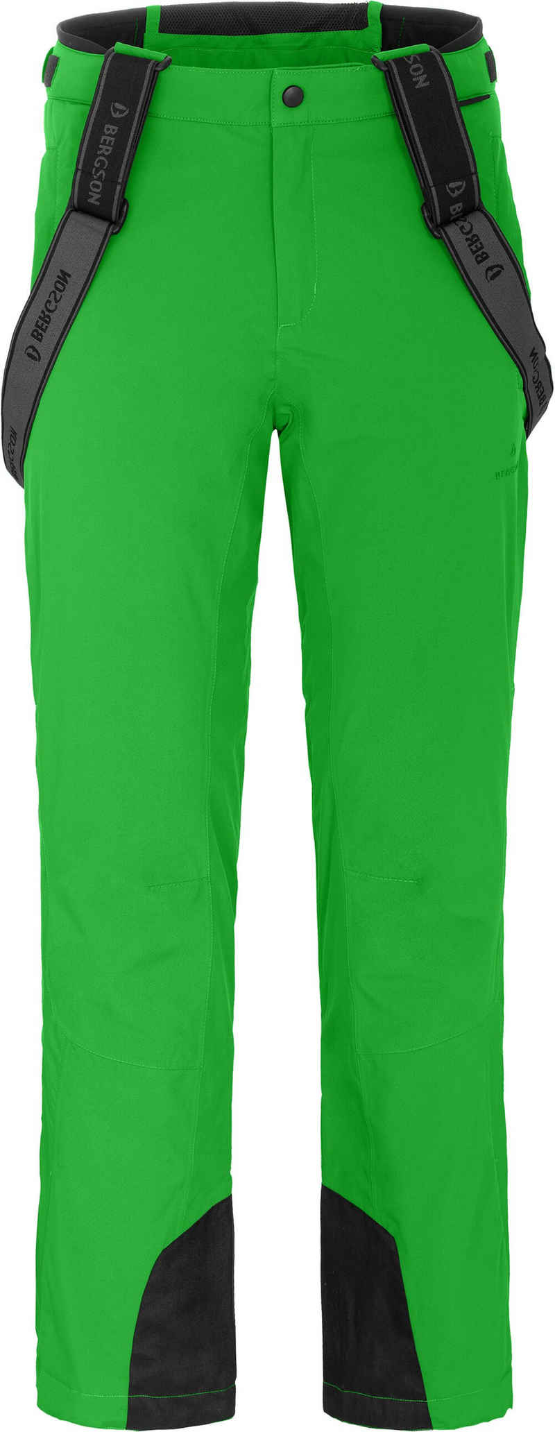 Bergson Skihose »FLEX« Herren Skihose, wattiert, bielastisch, 20000 mm Wassersäule, Normalgrößen, grün