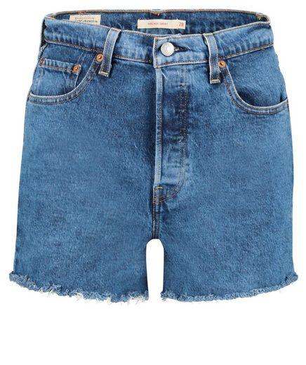 "Levi's® Shorts »Damen Jeansshorts ""Ribcage Short""«"