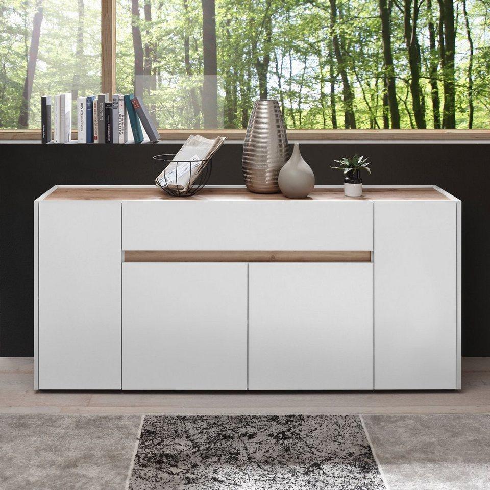 Newroom Sideboard »Lennox«, Kommode Weiß Modern Landhaus Highboard Anrichte  Wohnzimmer online kaufen  OTTO