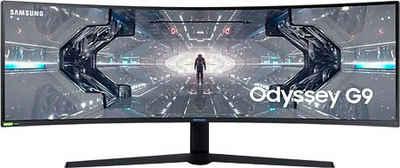 "Samsung C49G94TSSR Curved-Gaming-Monitor (124,5 cm/49 "", 5120 x 1440 Pixel, 1 ms Reaktionszeit, 240 Hz, LED)"