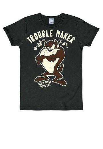 LOGOSHIRT T-Shirt mit tollem Taz-Print