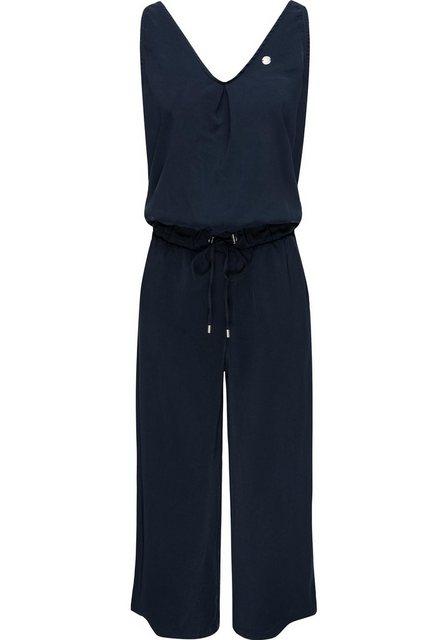 Hosen - Ragwear Jumpsuit »Suky« schicker, langer Damen Overall mit Tunnelzug › blau  - Onlineshop OTTO