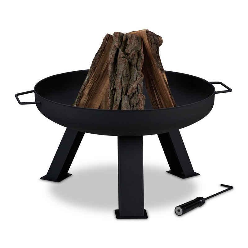 relaxdays Feuerschale »Feuerschale 60 cm Durchmesser«