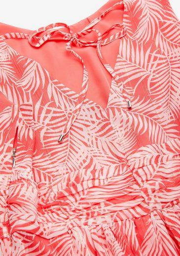 s.Oliver Sommerkleid mit floralem Druck