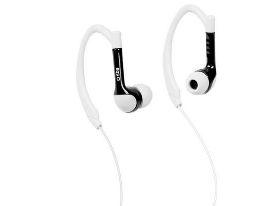 sbs »SBS In-Ear Sport Kopfhörer mit Kabel zum Musikhören und Telefonieren, 3,5mm Klinkenstecker, Anruffunktion« Sport-Kopfhörer