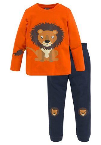 KIDSWORLD Shirt & kelnės (2-tlg) su Löwendruck i...