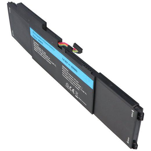 AccuCell »Akku passend für Dell XPS L421x Series, Li-Polymer« Laptop-Akku