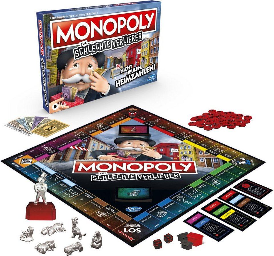 Hasbro Spiel, »Monopoly für schlechte Verlierer«