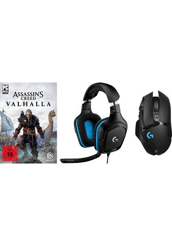 Logitech G »G502 Lightspeed + G432 + PC Assassin'...