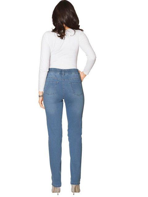 Hosen - Classic Basics High waist Jeans › blau  - Onlineshop OTTO