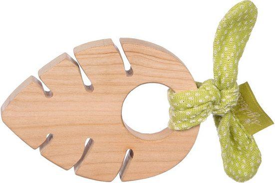Sigikid Greifling »Green Collection, Holzgreifling Blatt«, Made in Europe