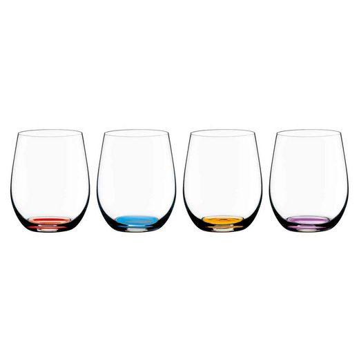 RIEDEL Glas Weinglas »HAPPY O Weinbecher 4er Set« (4-tlg)
