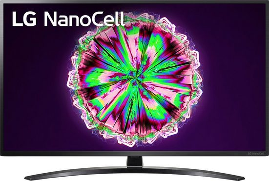 LG 55NANO796NE LED-Fernseher (139 cm/55 Zoll, 4K Ultra HD, Smart-TV, NanoCell, Google Assistant, Alexa und AirPlay 2, inkl. Magic Remote-Fernbedienung, 50 Hz Panel)