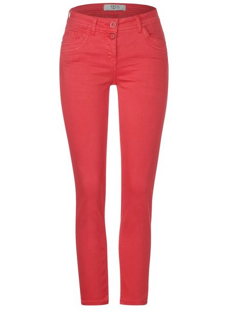 Hosen - Cecil Slim fit Jeans aus dem Repreve®Verfahren › orange  - Onlineshop OTTO