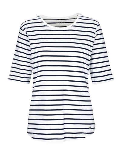 Clarina Rundhalsshirt »BRIGITTE« mit Streifen-Muster