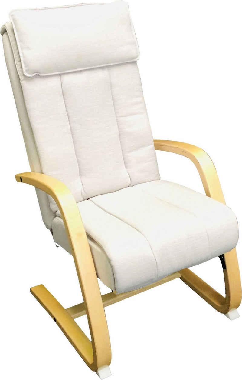 Alpha Techno Massagesessel »AT 233«, Shiatsu, Partiell und Roll-Massage, 3 Massagezonen individuell auwählbar