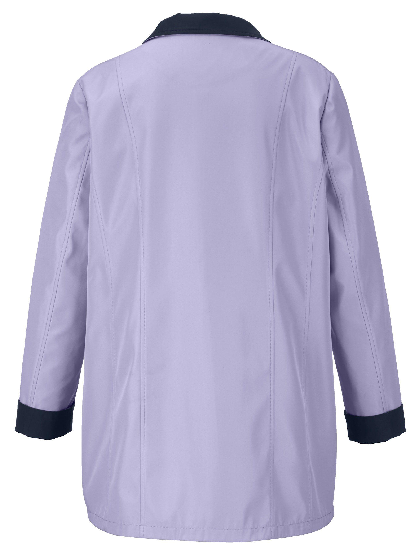 m. collection Jacke mit zwei Reißverschlusstaschen mit Dekopatten und Druckkn